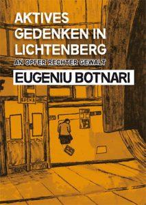 Gedenkbroschüre Eugeniu Botnari